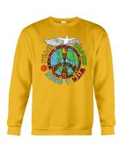 Peace begins with a smile Crewneck Sweatshirt thumbnail