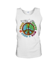 Peace begins with a smile Unisex Tank thumbnail