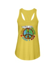 Peace begins with a smile Ladies Flowy Tank thumbnail
