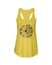Love is you Ladies Flowy Tank thumbnail