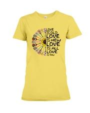Love is you Premium Fit Ladies Tee thumbnail