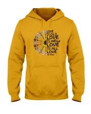 Love is you Hooded Sweatshirt thumbnail