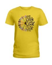 Love is you Ladies T-Shirt thumbnail