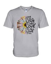 Love is you V-Neck T-Shirt thumbnail