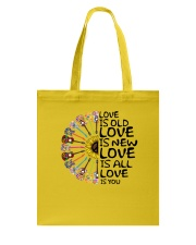 Love is you Tote Bag thumbnail