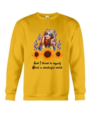 Wonderful world Crewneck Sweatshirt thumbnail
