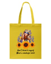 Wonderful world Tote Bag thumbnail