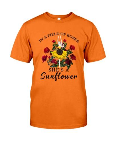 She's a sunflower