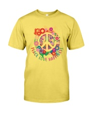 Peace love happiness Premium Fit Mens Tee thumbnail