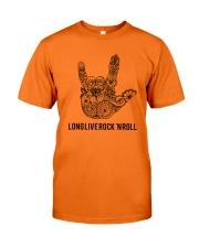 Long live rock 'n roll Classic T-Shirt front