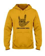 Long live rock 'n roll Hooded Sweatshirt thumbnail