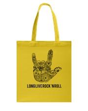 Long live rock 'n roll Tote Bag thumbnail