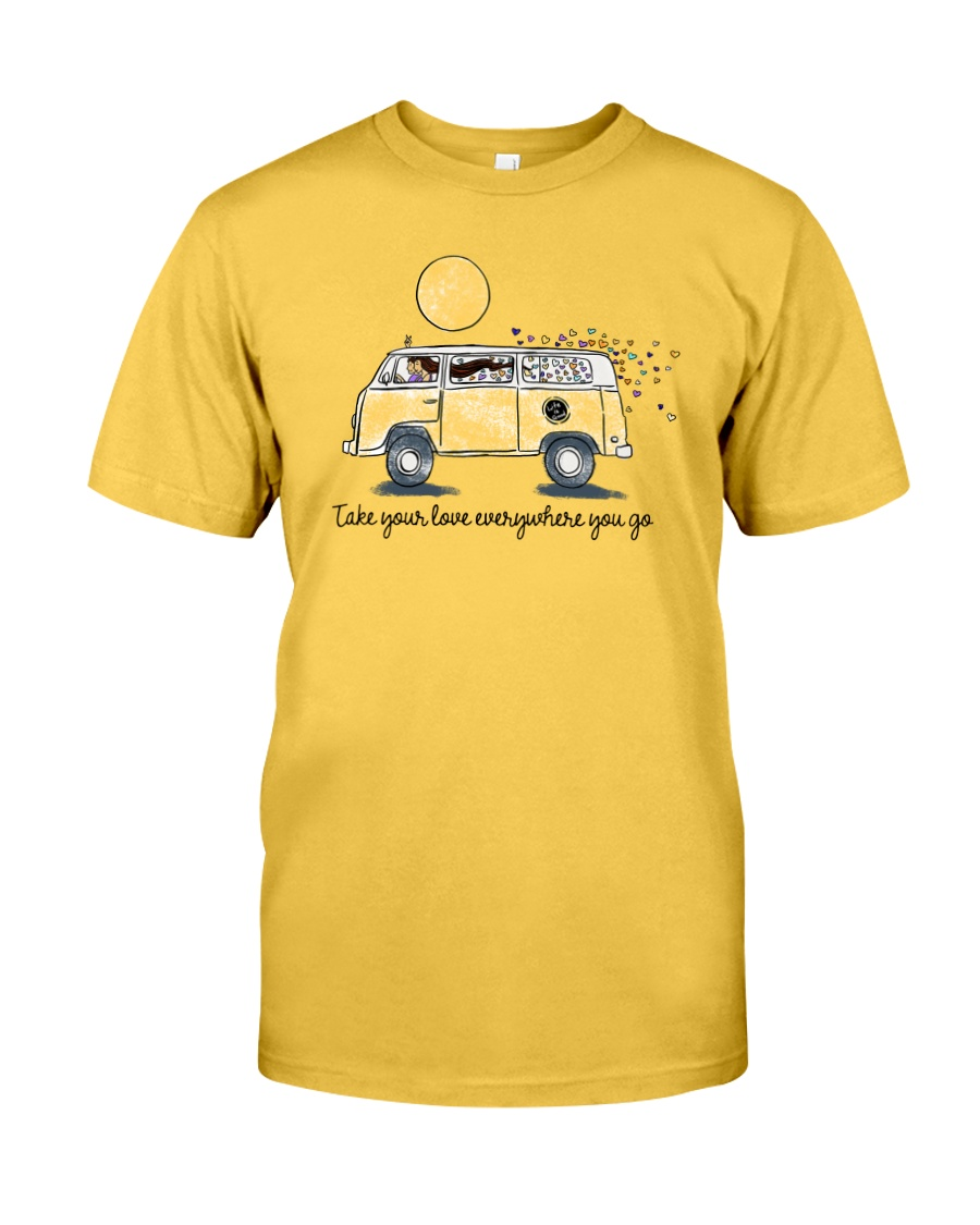 Take your love everywhere you go Classic T-Shirt