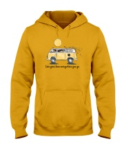 Take your love everywhere you go Hooded Sweatshirt thumbnail