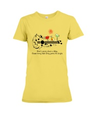 Every little thing is gonna be alright Premium Fit Ladies Tee thumbnail