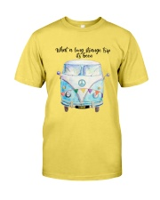 What a long strange trip Premium Fit Mens Tee front
