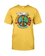 Peace is always beautiful Classic T-Shirt tile
