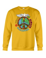 Peace is always beautiful Crewneck Sweatshirt thumbnail