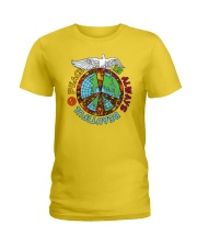 Peace is always beautiful Ladies T-Shirt thumbnail