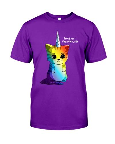 Cat trust me I'm a unicorn