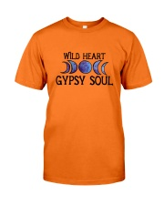 Wild heart gypsy soul Classic T-Shirt front