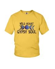 Wild heart gypsy soul Youth T-Shirt thumbnail