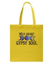 Wild heart gypsy soul Tote Bag thumbnail
