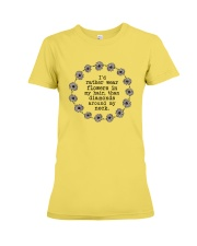 I'd rather wear flowers in my hair Premium Fit Ladies Tee thumbnail
