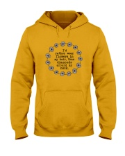 I'd rather wear flowers in my hair Hooded Sweatshirt thumbnail