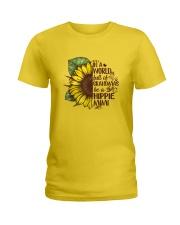 Hippie mimi Ladies T-Shirt thumbnail