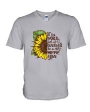 Hippie mimi V-Neck T-Shirt thumbnail