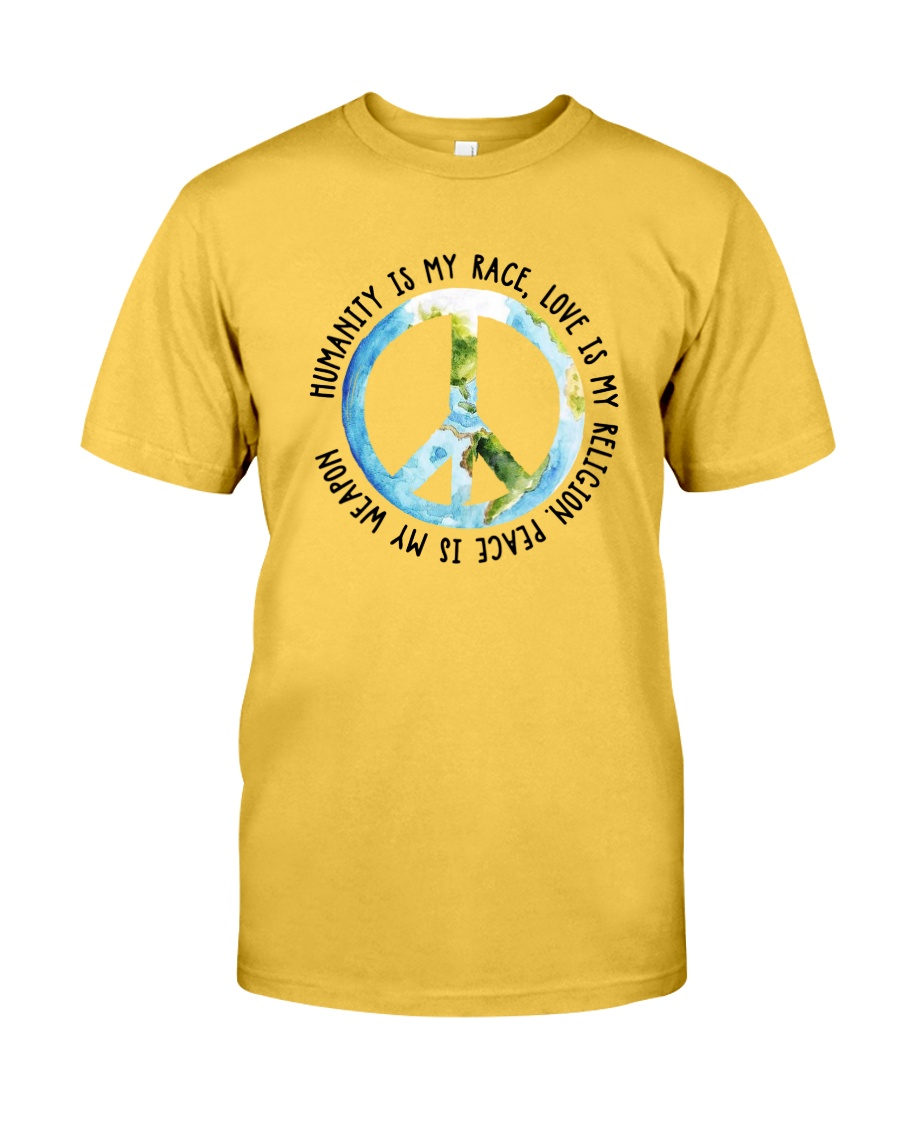 Humanity is my race Classic T-Shirt