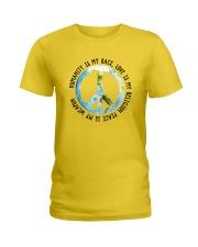 Humanity is my race Ladies T-Shirt thumbnail