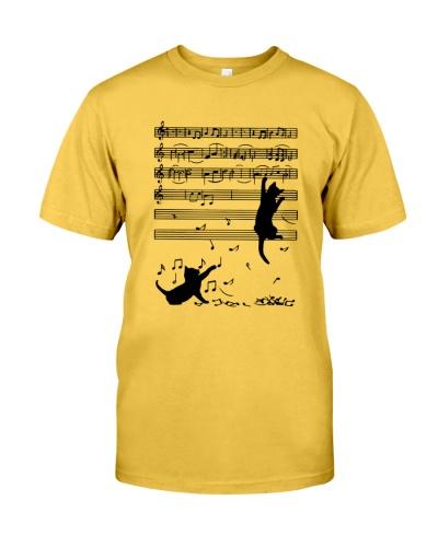 Cat music note