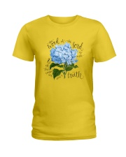 The word of the lord is right Ladies T-Shirt thumbnail