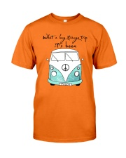 What a long strang trip it's been Classic T-Shirt front