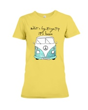 What a long strang trip it's been Premium Fit Ladies Tee thumbnail