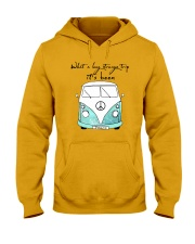 What a long strang trip it's been Hooded Sweatshirt thumbnail