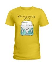 What a long strang trip it's been Ladies T-Shirt thumbnail