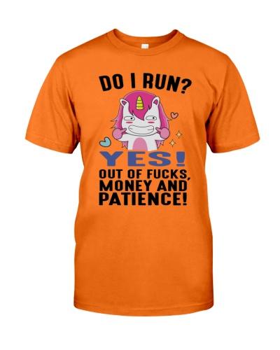 Unicorn run out of patience