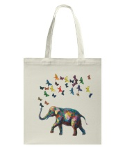 Butterfly Elephant Tote Bag thumbnail