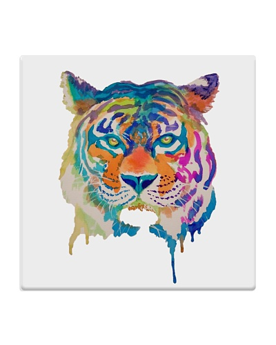 Dripping Paint Tiger