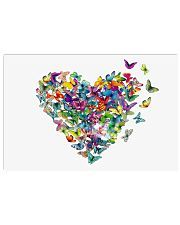 Butterfly Heart Horizontal Poster tile