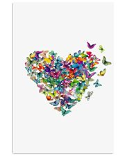 Butterfly Heart Vertical Poster tile