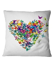 Butterfly Heart Square Pillowcase thumbnail