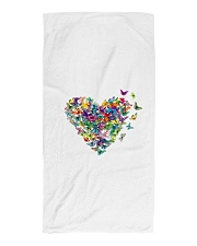 Butterfly Heart Beach Towel thumbnail