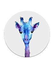 Blue Giraffe Circle Coaster thumbnail