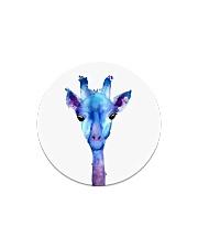 Blue Giraffe Circle Magnet thumbnail