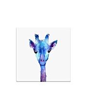 Blue Giraffe Square Magnet thumbnail