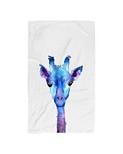 Blue Giraffe Hand Towel thumbnail